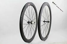 50mm Clincher Carbon Bicycle Wheels R13 Hub 700C 25mm width Road bike Wheelset
