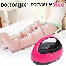 Doctor Dr life ACE Premium Air Compression Massager (Machine+Leg+Waist+Arm+Zip)