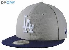 New Era 9Fifty LA Dodgers MLB Diamond Era Mix Grey / Blue Snapback Baseball Cap