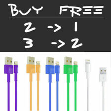3 6 10FT STRONG Braided USB Lightning Charger Cable Cord for Original OEM iPhone