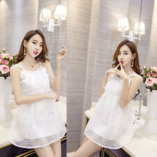 Sexy Women's Organza Slim Casual Thin Cocktail Party Evening Short Mini Dress