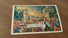 1952 BOWMAN   U.S. Presidents #7 BURNING OF WHITE HOUSE VG-EX  CONDITION