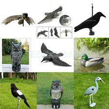 Realistic Bird Decoy Weed Pest Control Garden Scarer Scarecrow Ornament Decor