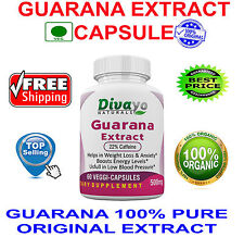 500 mg Capsules Top Selling Guarana Extract Herbal Product Veggie Capsules