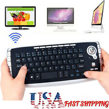 Slim 2.4Ghz Wireless Keyboard Touchpad With Mouse For PC PS4 Smart TV Andriod