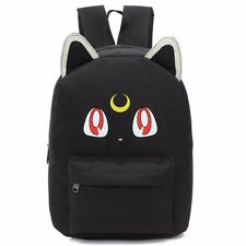 Lovely Cat Backpack Students Fashion School Bags Cartoon Shoulder Bag Travel Bag