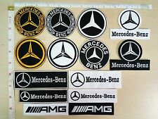 Mercedes Benz Motor Sport Racing Automobile Embroidered Applique Iron on Patch