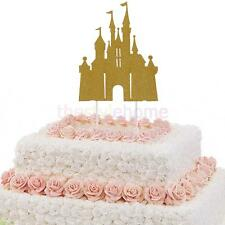 MagiDeal 10PCS Glitter Castle Cupcake Picks Cake Toppers Party Decoration