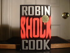 Shock by Robin Cook Signed by Author