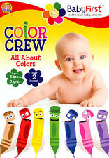 BabyFirst: Color Crew - All About Colors (DVD, 2013)