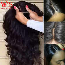10-22 inch Body Wave Straight Human Hair Lace Front Wig Full Lace Wigs Smooth