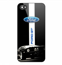 Ford GT Mustang Logo Print On Hard Plastic Case For iPhone 5/5s 6/6s 7 (Plus)