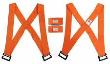 New Pair of Forearm Forklift Lifting and Moving Straps to easily carry furniture