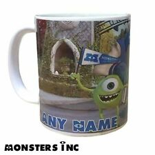 Pixar/Disney MONSTERS INC / MONSTERS UNIVERSITY Personalised Mug *Add Any Name*