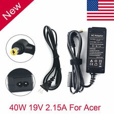 19V 2.15A New Ac Adapter Charger & Plug for Acer Aspire One 521 533 532H NAV50
