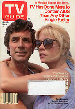 1987 TV Guide - David and Meredith Baxter Birney - Knots Landing - Frank's Place