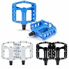 "Cycling Alloy Flat-Platform Pedals 9/16"" Mountain MTB / BMX Bike Bicycle Bearing"