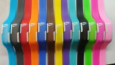 New  Multi colors Watch adjustable Nike LED Digital  SILICONE BAND Wristwatches