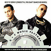 Keep It Comin 1992 by C+C Music Factory - Disc Only No Case