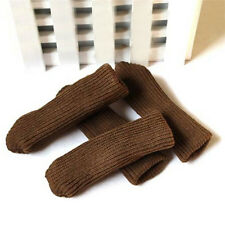 4x Furniture Table Chair Foot Leg Knit Non-slip Socks Cover Pads Floor Protector