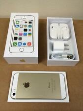 """Apple iPhone 5S- 16 32 64GB GSM """"Factory Unlocked"""" Smartphone Gold Gray Silver E"""