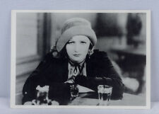 Greta Garbo photo postcard. 6 x 4 Inches. from a scene from 'Anna Christie' 1930