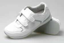 Mens New White Wide Fitting Carpet Bowls Grass Bowling Shoes Size 3 - 11