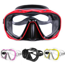 Silicone Seal Snorkel Scuba Tempered Glass Lens Mask Diving Equipment Dreamed