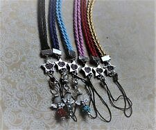 Shoulder Strap Mobile Phone Rhinestone Stern Pendant Collar