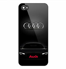New Audi R8 Cars Logo Print On Hard Plastic Case For iPhone 5/5s 6/6s 7 (Plus)
