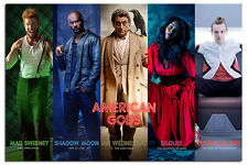 American Gods Collage Poster New - Maxi Size 36 x 24 Inch