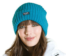 New Ladies Chunky Chunky Ribb Knitted Fashion Warm Winter Beanie Style Hat