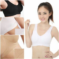 GENIE Seamless Sports Yoga BRA Black&White&Nude 3 PCS/LOT with Removable Pads