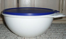 New~TUPPERWARE THATSA BOWL Bowl~12 Cup~White~Blue Seal~3 available