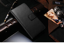 "Genuine HandMade Real Leather Wallet Flip Case Cover for New iPhone 6 4.7"" inch"