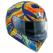 New AGV K3 SV 5 Continents Valentino Rossi 46 Full Face Motorcycle Helmet