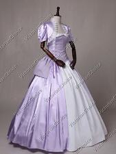 Victorian Corset Bustle Maid Marian Dress Gown Theater Halloween Costume 329