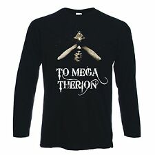 ALEISTER CROWLEY TO MEGA THERION T-SHIRT - Pagan Magick Occult Satan - Sz S-XXL
