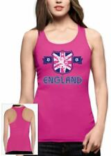 ENGLAND Flag Racerback Tank Top UK National Team Football World Cup 2015 Vest