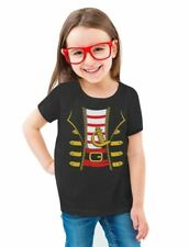 Halloween Pirate Buccaneer Costume Suit Toddler/Kids Girls' Fitted T-Shirt
