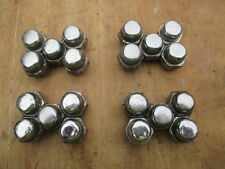 NISSAN X-TRAIL 20X CHROME STANDARD ALLOY WHEEL  NUTS  FROM 2003