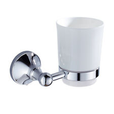MagiDeal Wall Mounted Bathroom Accessories Single Cup Tumbler Holders