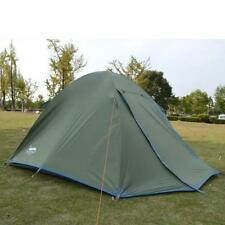 3-4 Person Camping Tent Double Layers 2 Doors 2 Rooms Family Outdoor Hiking Tent