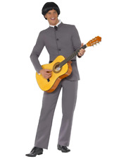 Adults Mens Fab Four Swinging 60's Music Band Icon Fancy Dress Costume