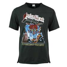 Judas Priest Shirt - Men's Amplified Defenders of the Faith T shirt Charcoal New