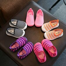 Summer Baby Kids Boys And Girls Casual Mesh Breathable Slip On Shoes Trainer