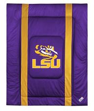 LSU Tigers Louisiana State Sideline Bedding Comforter Cover
