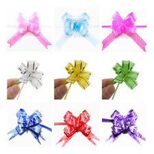 Colourful Coating Small Pull Bows Butterfly Ribbon Wedding Party Xmas Wrap New
