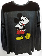 Mickey Mouse Long Sleeve T-shirt DISNEYLAND (XL) Official Disney Heather USA!
