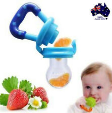 2 x Silicone Baby Dummy Feeder Teething Pacifier BPA Free Start  Solids 3-6 mths